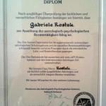 Gabrele Vierzig-Rostek Diplom Astrologisch-Psychologische Beratung