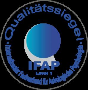 IFAP Qualitaets-Siegel