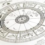 Historche Horoskop-Grafik