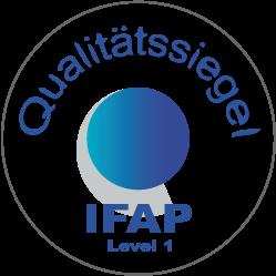 IFAP Qualität-Siegel klein