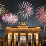 Jahr 2018 Brandenburger Tor Berlin