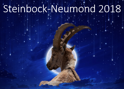 Steinbock-Neumond 2018 Radix