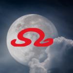 Loewe-Mond 2018 im Wassermann-Monat