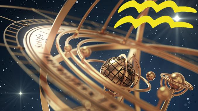 Wassermann 2018 mit Armillary-Sphere