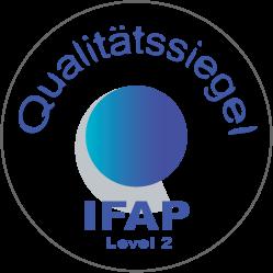 IFAP Qualitätssiegel Level 2 klein