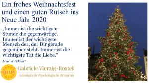 Weihnachtsgruß 2019 Institut