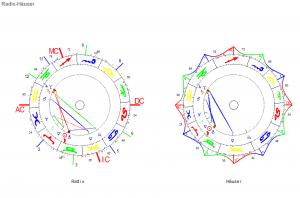 Stier Neumond 2020 Radix und Häuser Horoskop