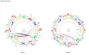 Steinbock Neumond 2021 Radix und Häuser Horoskop